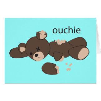 schlechter Tag, zum ein Teddybär zu sein Karte