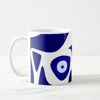 Schlechtes Augen-Lava-Muster-Kaffee-Tasse Kaffeetasse