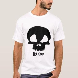 Schlechtes Chris-Logo-Weiß-T-Stück T-Shirt