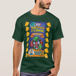 Schlechtes Clown-T-Shirt - Makkaroni u. Käse T-Shirt