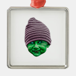 Schlechtes Golbin Silbernes Ornament