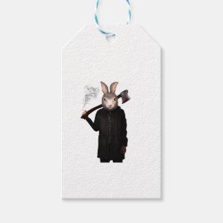 Schlechtes Kaninchen Geschenkanhänger