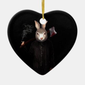 Schlechtes Kaninchen Keramik Ornament