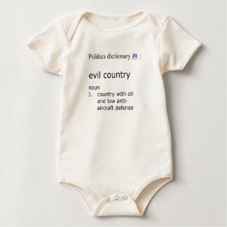 Schlechtes Land Baby Strampler