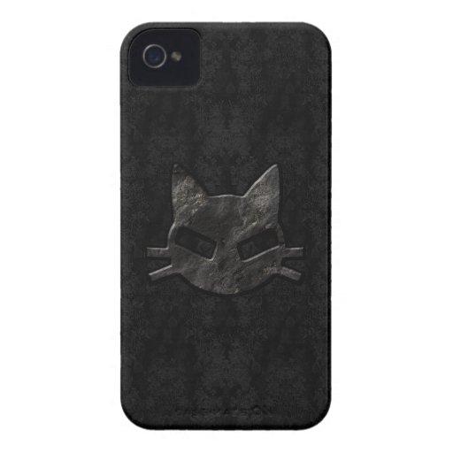 Schlechtes Miezekatze-Schwarzes gotischer iPhone 4 iPhone 4 Cover