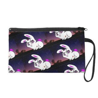 Schlechtes Nachthäschen Wristlet Handtasche