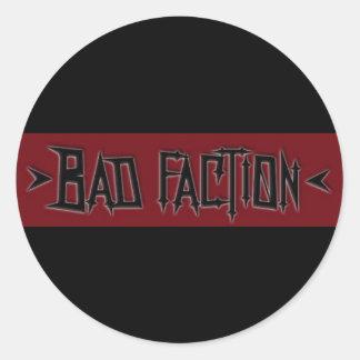 Schlechtes Partei-Logo Sticker