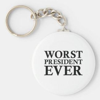 Schlechtester Präsident Ever Schlüsselanhänger