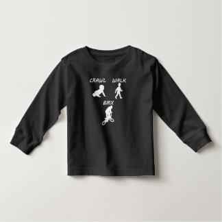 Schleichen-Weg BMX Kleinkind T-shirt