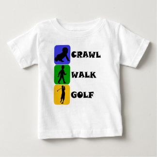 Schleichen-Weg-Golf Baby T-shirt