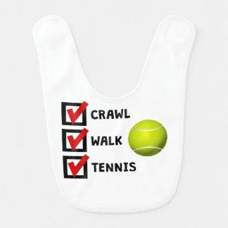 Schleichen-Weg-Tennis Lätzchen