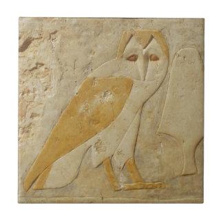 SCHLEIEREULE alter Ägypter Keramikfliese