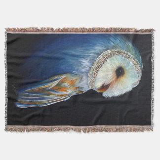 Schleiereule-bunte Tier-Wurfs-Decke Decke