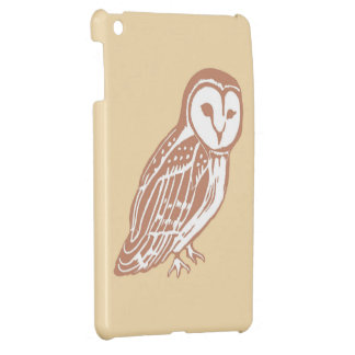 Schleiereule-Creme iPad Fall Hüllen Für iPad Mini