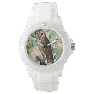 Schleiereule Vintag Armbanduhr