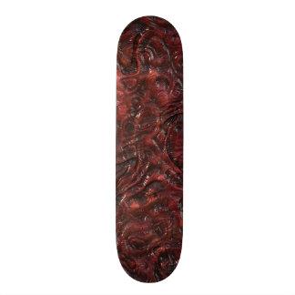 Schleimige rote Bio sonderbare Individuelle Skateboards