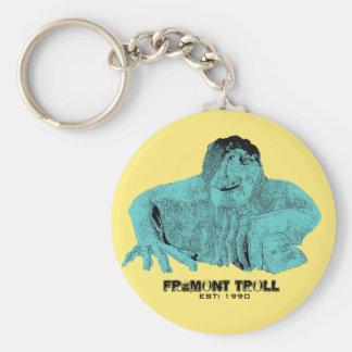 Schleppangel Keychain Seattles Fremont Schlüsselanhänger