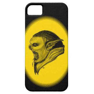 Schleppangel-schwarzer und gelber Entwurf iPhone 5 Schutzhülle