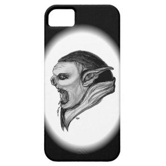 Schleppangel-Schwarzweiss-Entwurf iPhone 5 Schutzhülle
