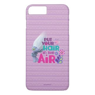 Schleppangeln | setzten Ihr Haar in die Luft ein iPhone 8 Plus/7 Plus Hülle