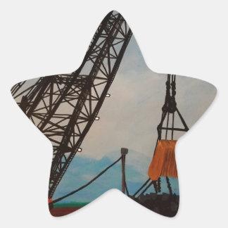 Schleppseil Stern-Aufkleber