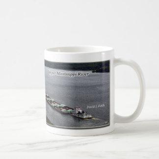 Schleppseile, die obere Mississippi-Tasse führen Kaffeetasse
