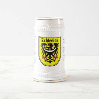 Schlesien Stein Bierglas