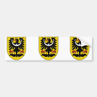Schlesien, tschechisch autoaufkleber