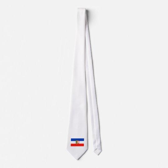 Schleswig-Holstein Flagge Individuelle Krawatte