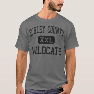 Schley County - Wildkatzen - hoch - Ellaville T-Shirt