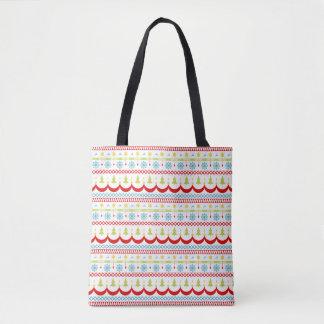 Schlichte Weihnachtsmuster-Taschen-Tasche Tasche