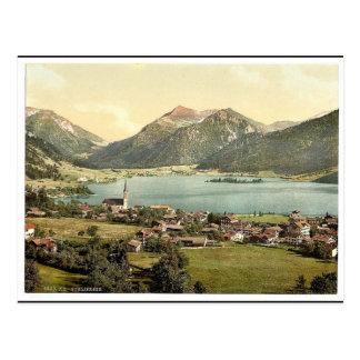 Schliersee, Klassiker Photochrom des Bayerns, Postkarte