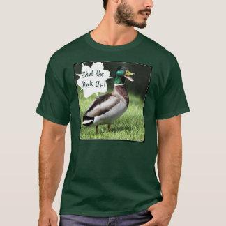 Schließen Sie die Ente T-Shirt