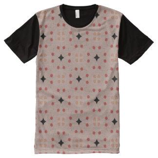 Schließen Sie die Punkte an T-Shirt Mit Komplett Bedruckbarer Vorderseite
