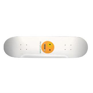 Schließen Sie Ihren Piehole Smiley Individuelle Skateboards