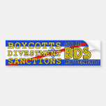 Schließen Sie sich BDS Bewegungsboykott Israel an Autosticker
