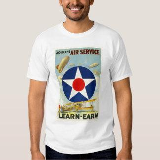 Schließen Sie sich dem Fluglinienverkehr an Shirt