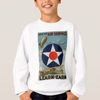 Schließen Sie sich dem Fluglinienverkehr an Sweatshirt