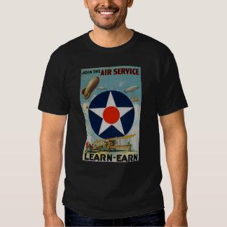 Schließen Sie sich dem Fluglinienverkehr an T Shirt