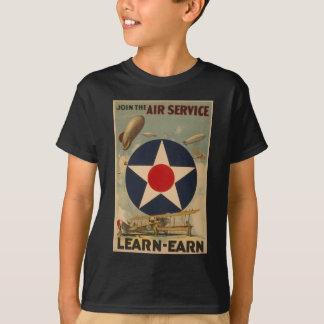 Schließen Sie sich dem Fluglinienverkehr an T-Shirt
