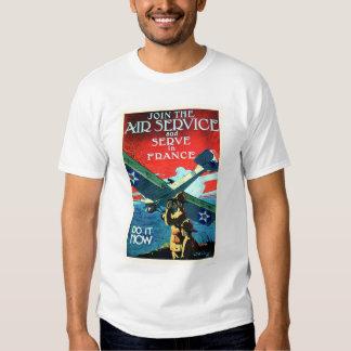 Schließen Sie sich dem Fluglinienverkehr an und Shirt