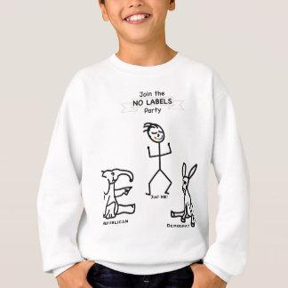 Schließen Sie sich dem KEINEM AUFKLEBER Party an Sweatshirt