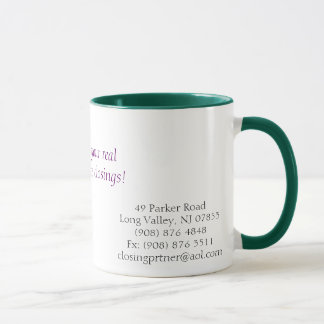 Schließende Partner-Tasse Tasse
