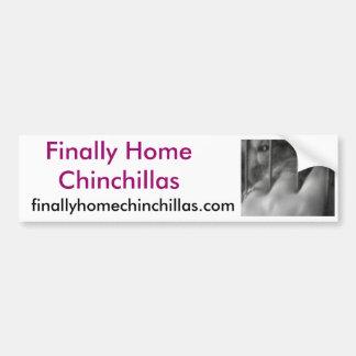 Schließlich Zuhause-Chinchillas, Paprikas Autoaufkleber