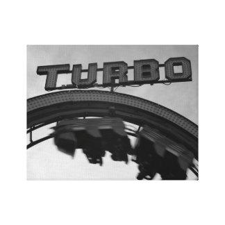 Schlingen Sie die Schleife Turbo Leinwanddruck