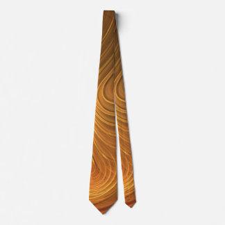 Schlips Goldbraun Krawatte
