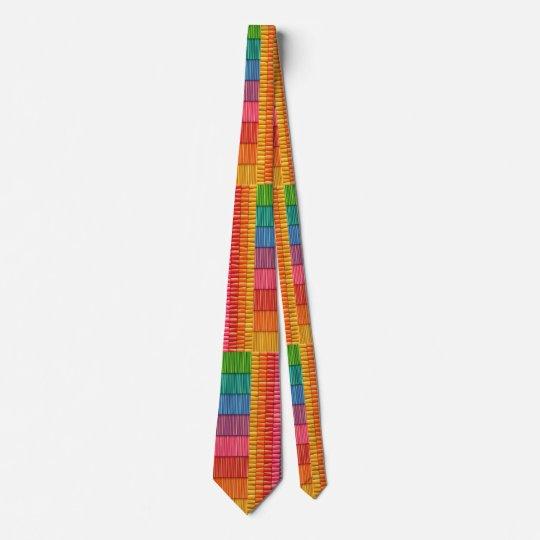 Schlips in Streifenmustern Krawatte