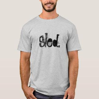 """""""Schlitten"""" graues SledArmy oberes T-Shirt"""