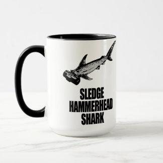 Schlitten-Hammerhai-Haifisch Tasse