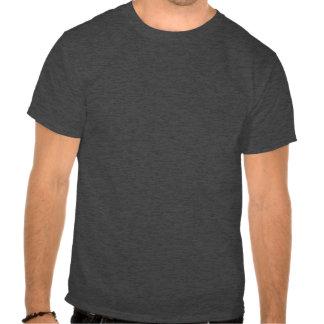 """Schlitten-"" Holzkohle färbte oberen Halbinsel-T - T-shirt"